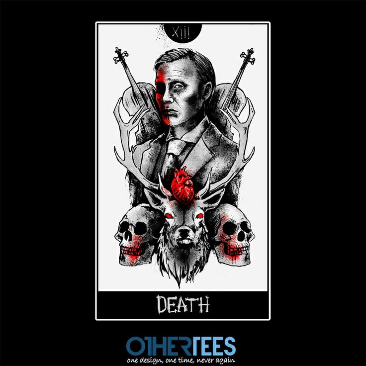 XIII: Lecter by mrtnljmn Shirt on sale until 12 April on http://othertees.com #hannibal
