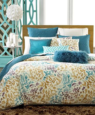 INC International Concepts Cheetah Bedding Colletion-again something different