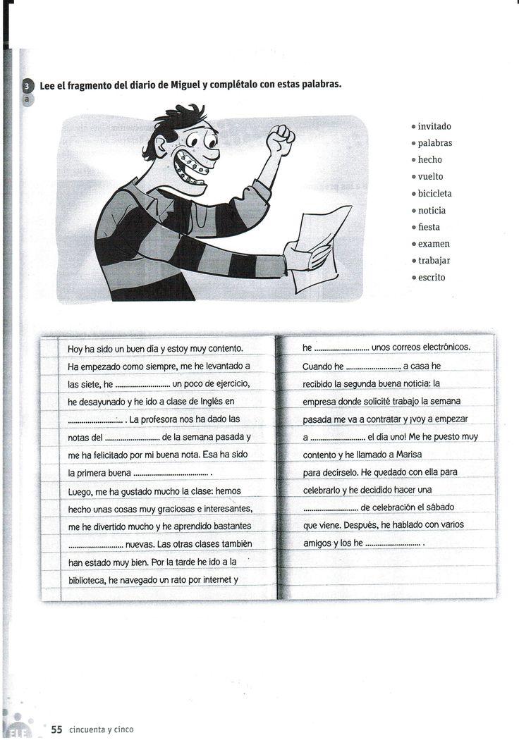 Diario de Miguel (pretérito perfecto)
