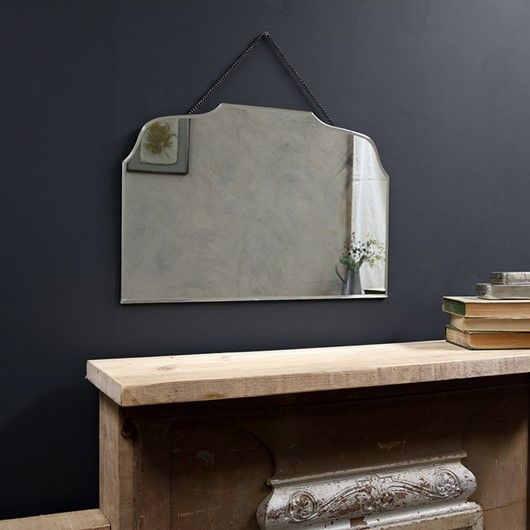 Vintage Rectangular Wall Mirror