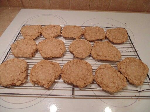 Rolled oats biccies