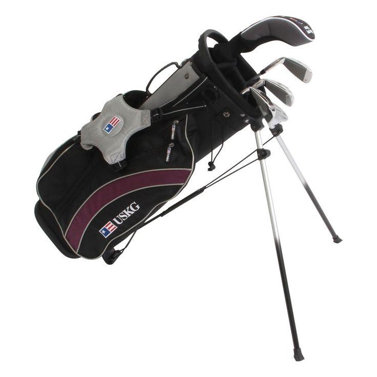 US Kids Golf UltraLight UL54 5 Club Set with Stand Bag