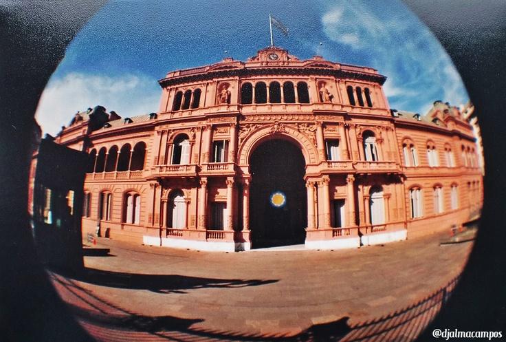 Casa Rosada. Buenos Aires, Presidencia de La Nacion Argentina (Argentina). Lomo Fisheye. 2011. @djalmacampos