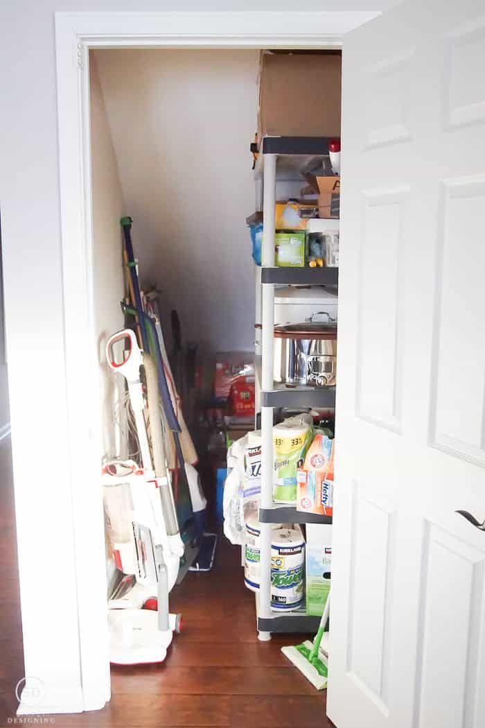 Under The Stairs Storage Organizingmadefun Com Closet Under