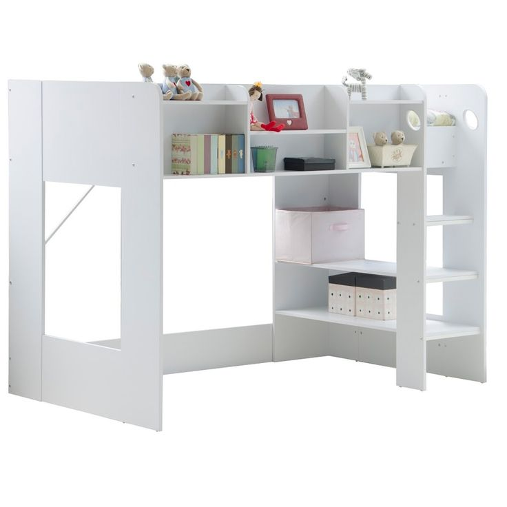 Kids Wizard High Sleeper Bed In White Hannah S Room
