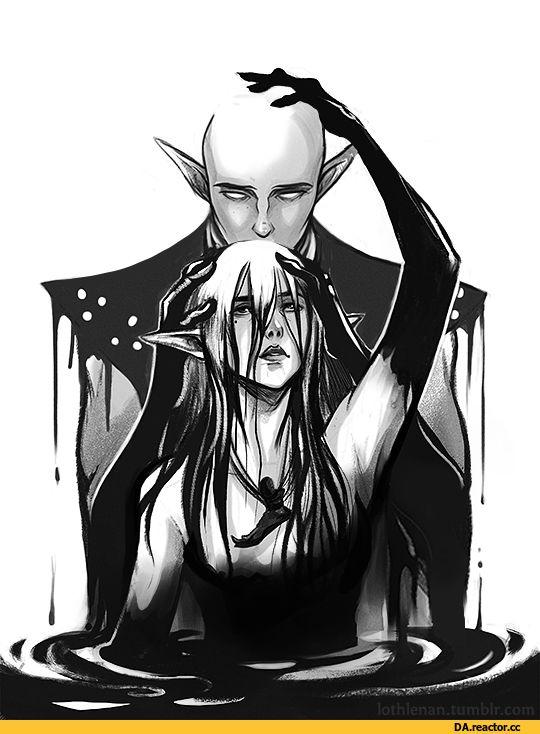lothlenan,Солас,DA персонажи,Dragon Age,фэндомы,Инквизитор (DA)