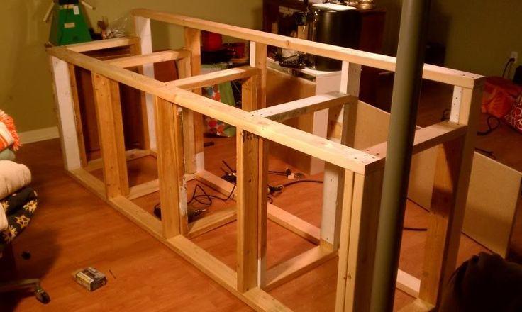 How To Build A Basement Bar