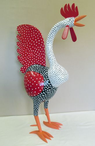 folk art chicken gourds - Google Search