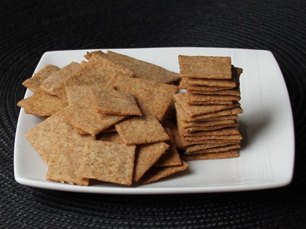 [Photograph: Donna Currie] What Worked: You know Wheat Thins? Well these do taste better. The store-bought crackers are usually better when topped with something, but these are snack-worthy all on their own. What Didn't: This makes a fairly small bowl...