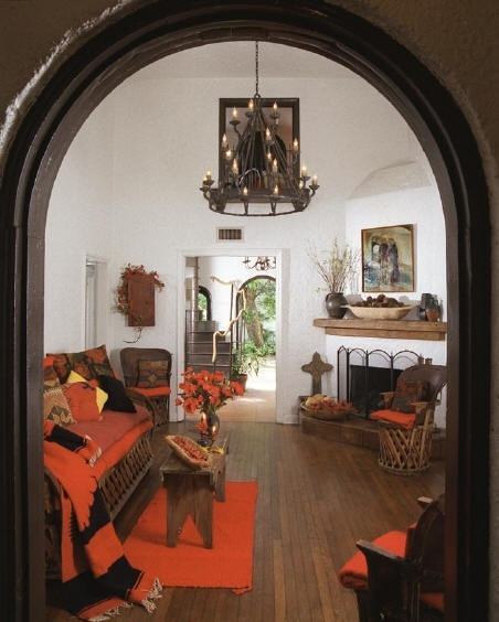 Hacienda Home Decor: Rustic Mexican Casona