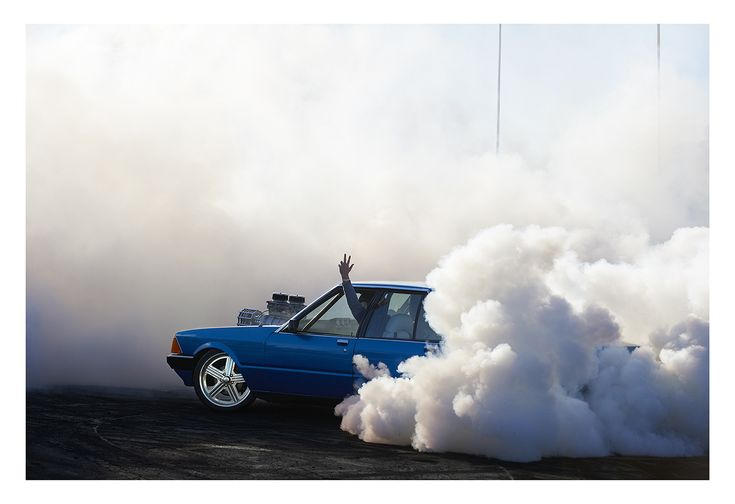Simon Davidson's Burnout Series Captures Australian Drag Racing | Trendland