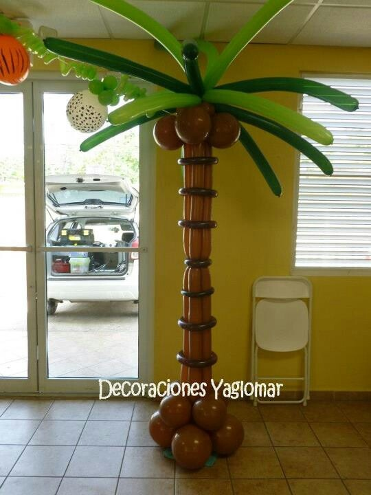 .balloon palm tree