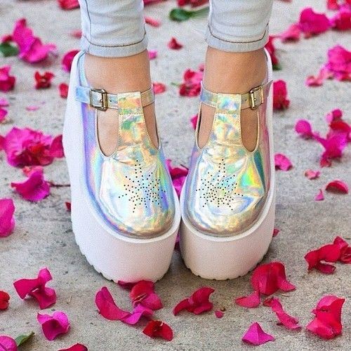 Holographic shoes!