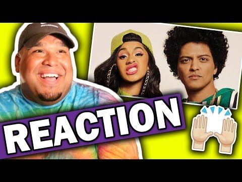 Bruno Mars ft. Cardi B - Finesse (Remix) Music Video [REACTION] - YouTube