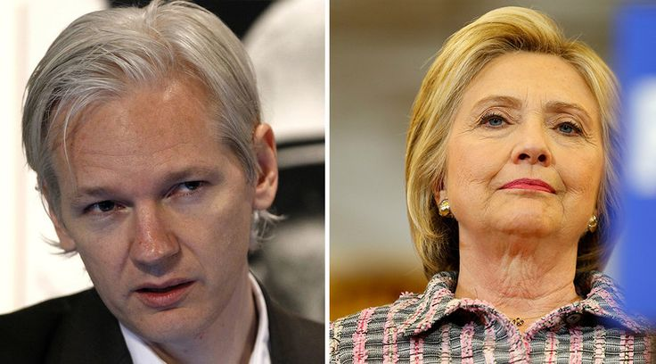 """Wikileaks co-founder Julian Assange warns more information will be published about Hillary Clinton, enough to indict her if the US government is courageous enough to do so, in what he predicts will be """"a very big year"""" for the whistleblowing website.     Expressing concerns in an ITV interview about the Democratic presidential candidate, who he claims is monitoring him, Assange described Republican presumptive nominee Donald Trump as an """"unpredictable phenomenon"""", but predictably, given…"""