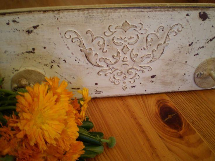 Рукодельная лавка - Как сделать объемный рельеф в стиле шебби-шик на плоской поверхности?