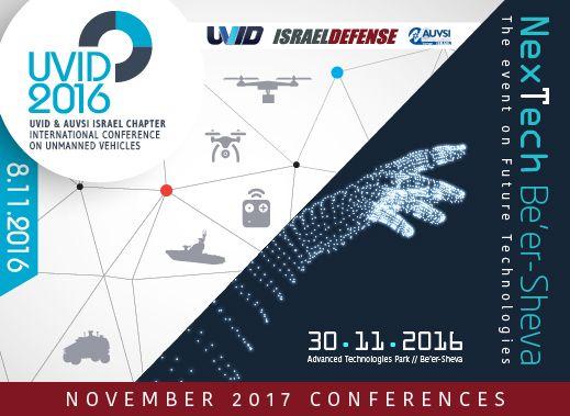 UVID 2016 website - http://bit.ly/2dqYqC3  NexTech 2016 website - http://bit.ly/2etinZV