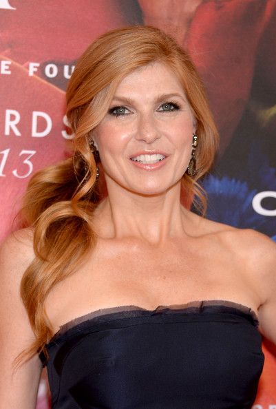 Connie Britton Ponytail - Connie Britton Hair Looks - StyleBistro