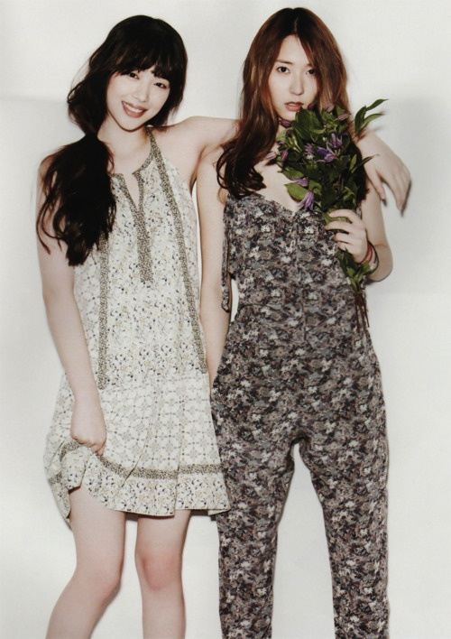 Sulli and Krystal