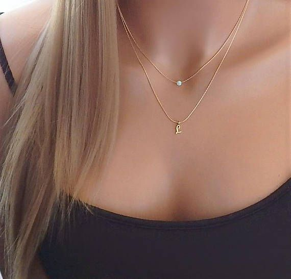 Black gold drop necklace Minimal Boho gift for her Girlfriend gift necklace Multi disc necklace Short necklace Dainty everyday jewelry