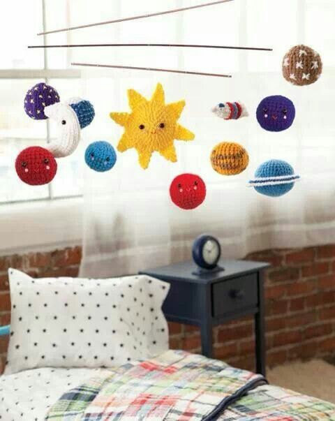 paper solar system mobile - photo #21
