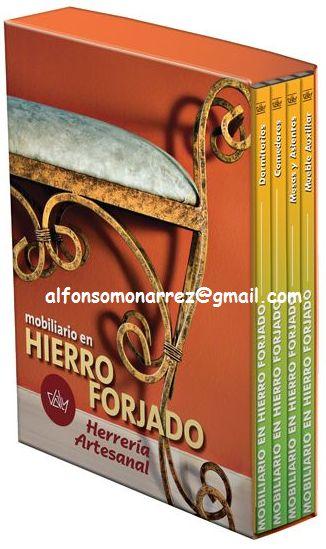 LIBROS DVDS CD-ROMS ENCICLOPEDIAS EDUCACIÓN EN PREESCOLAR. PRIMARIA. SECUNDARIA Y MÁS: MOBILIARIO HIERRO FORJADO