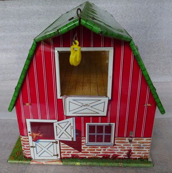 357 Best Tin Doll Houses Images On Pinterest Doll
