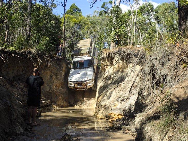 4wding at Gunshot Creek, Queensland.  #4wding #gunshot #creek #queensland #offroad #australia #qld