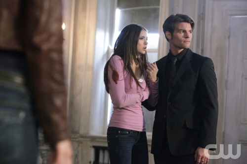 """""""Rose"""" - Nina Dobrev as Elena, Daniel Gillies as Elijah in THE VAMPIRE DIARIES on The CW.  Photo: Quantrell Colbert/The CW  ©2010 The CW Network, LLC. All Rights Reserved.Elijah Tvd, The Vampires Diaries, Ninadobrev, Vampires Diaries S2, Vampires Diariess2, The Vampire Diaries, Nina Dobrev, Elena, Daniel Gillies"""