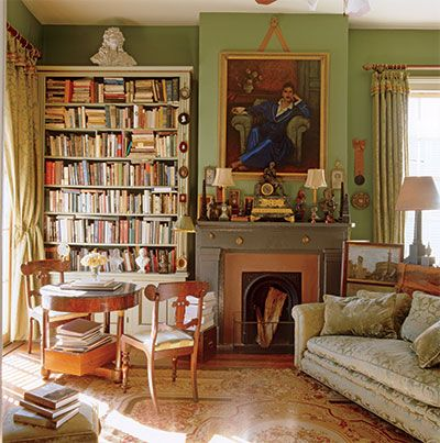 Patrick Dunnes New Orleans Library Exhibits His Penchant For Living And Decorating With Things That Have