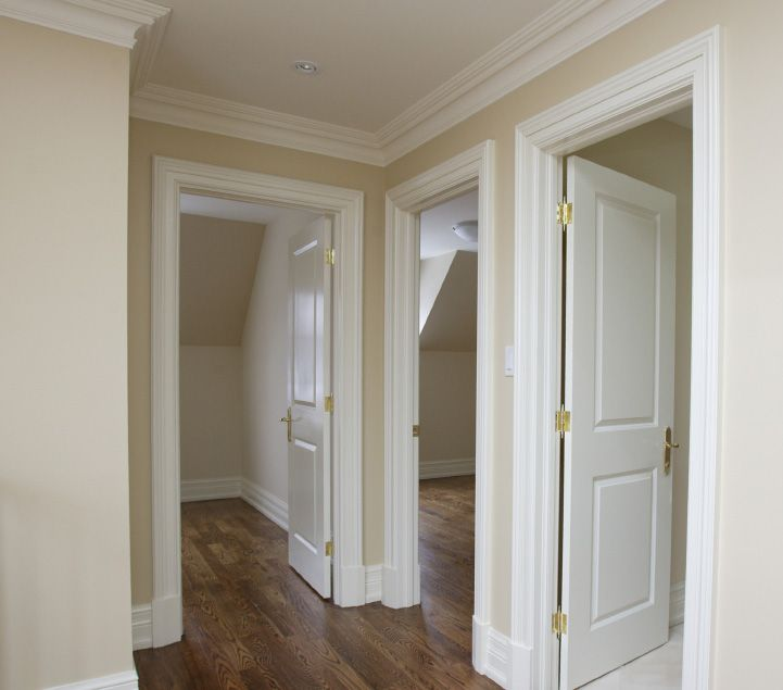 this looks very similar to our trim and moulding. french country crown moulding and trim | Architrave, Skirting & Frames