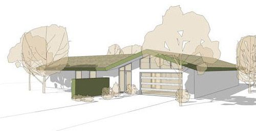 Cliff-May-inspired-house-plans on Retrorenovation