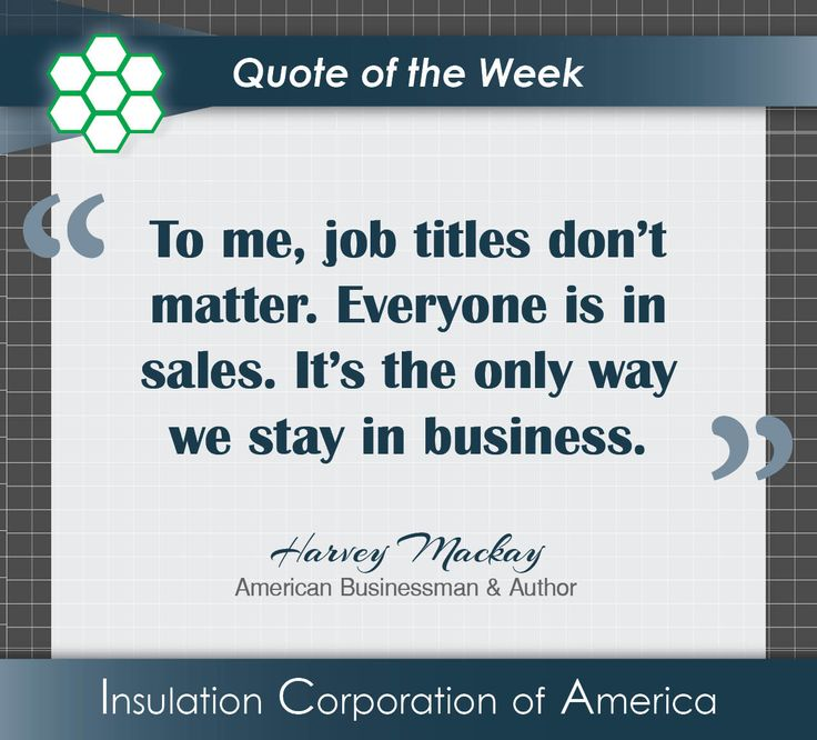 """Love Finds You Quote: Harvey Mackay """"To Me, Job Titles Don"""