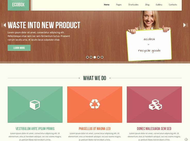 Free Responsive and Clean WordPress Theme