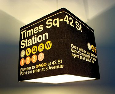 wanelo -Large Times Sq. Lamp Shade - Meninos Store ($50-100) - Svpply