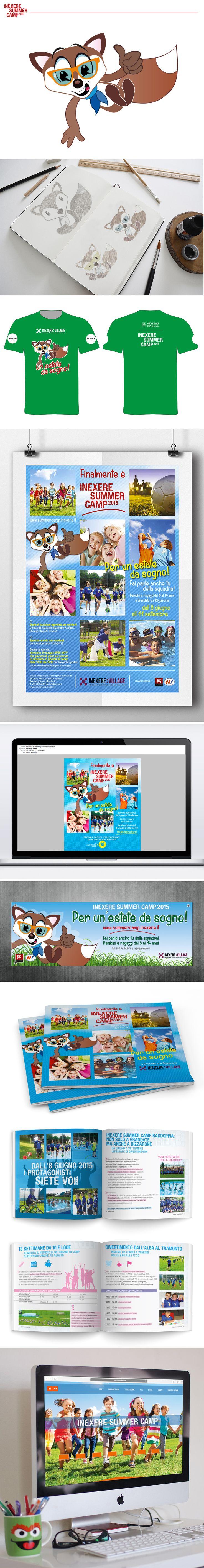 Inexere Summer Camp! Il progetto di Inexere Village dedicato interamente a bambini e ragazzi nel periodo estivo. Due centri, Grandate e Bizzarone, 3 mesi di attività, giochi e divertimento. Bcentric per il secondo anno si è occupato del progetto di comunicazione globale e di push marketing per le iscrizioni.