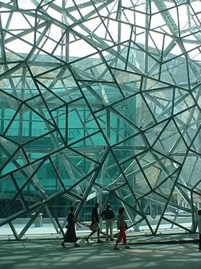 Curious Places: Federation Square (Melbourne/ Australia)