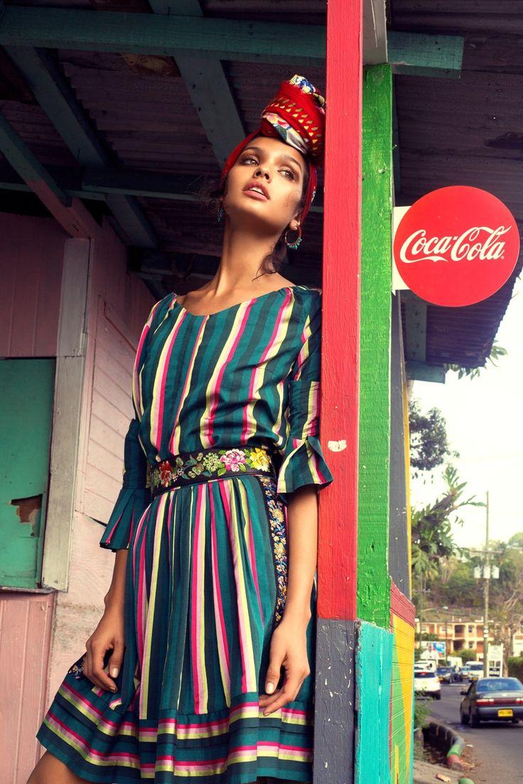 Photography: Daniela Rettore. Styled by: Benedetta Ceppi. Hair & Makeup: Alex Alva using Armani. Retouch: Daria Antonova. Model :Livia Rangel at Elite Miami.