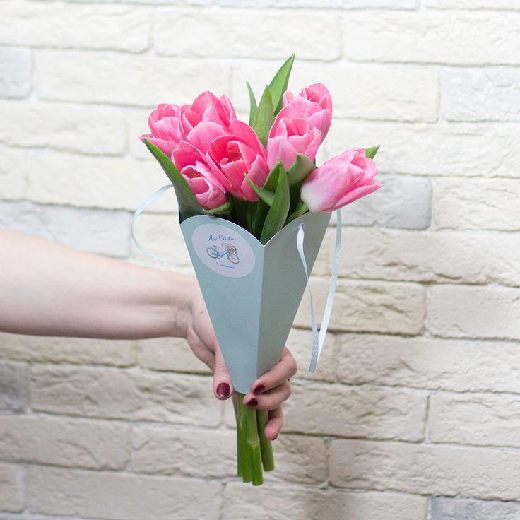 la-stile.ru | Букет из тюльпанов 890 руб.