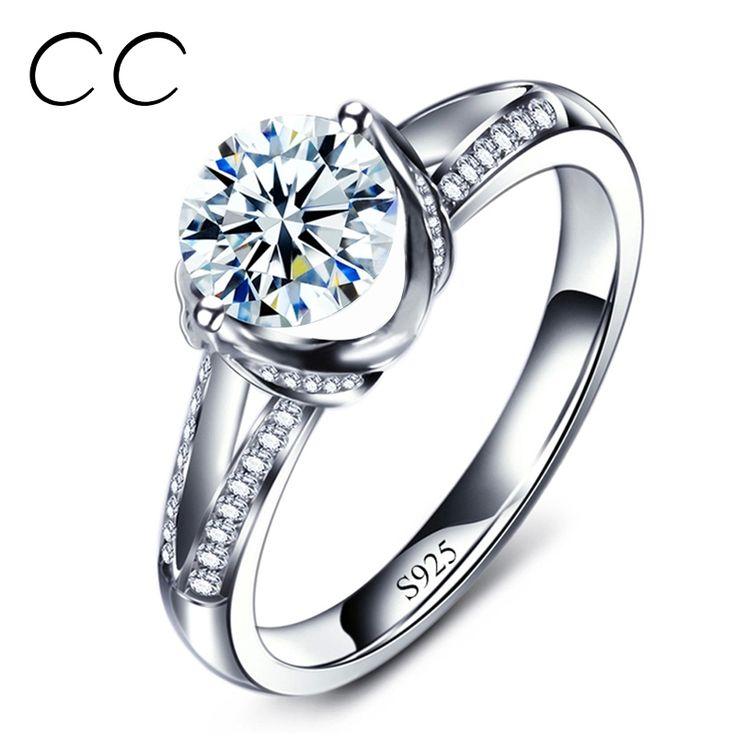 熱い販売の婚約指輪ヴィンテージczウェディングジュエリービジューanillosパーフェクトギフト用恋人wholsesale CC098