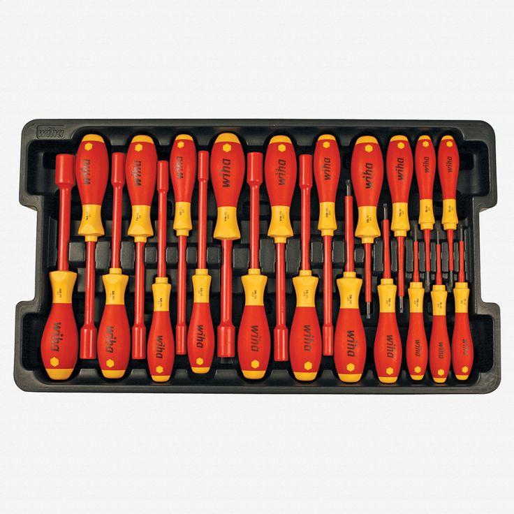 Wiha 32800 80 Piece Insulated Rolling Tool Case - KC Tool