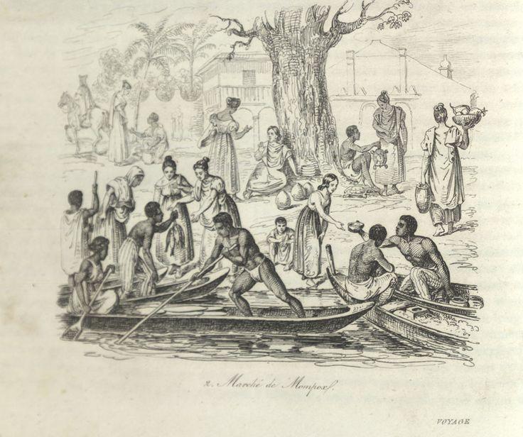 Marketplace, Mompox, Colombia, 1826