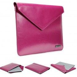 Gadgets Universal Tasche für Laptop, Macbook bis 13 Zoll - d-park Kunstleder Designer Hülle - Urcover® Lila