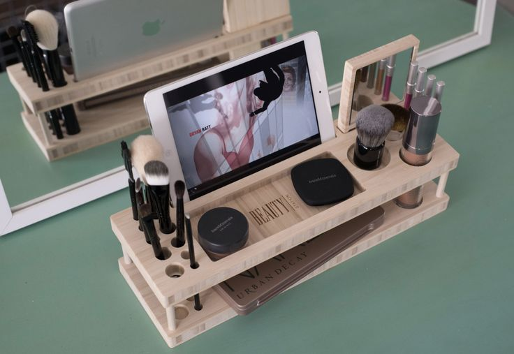 Beauty Station Makeup Organizer and Display by iSkelterProducts, $79.99