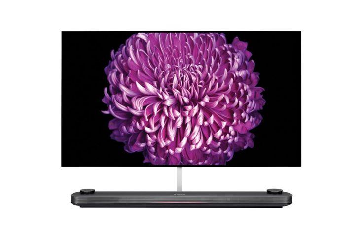 LG OLED65W7V Signature  Description: LG OLED65W7V: Prachtig design prachtige beelden LG komt met een serie innovatieve televisies die zulke natuurgetrouwe beelden oplevert dat het lijkt alsof je je in de film bevindt. LG OLED65W7V heeft zo'n ultradun design dat hij naadloos integreert met jouw muur en dankzij nieuwe technologieën zie jij perfect scherpe beelden en heldere kleuren vanuit welke hoek je ook naar het beeldscherm kijkt. Het contrast tussen licht en donker wordt enorm versterkt…