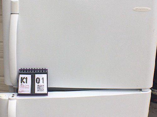 P3.10.17 K101 White Frigidaire Refrigerator - Listing # 643691
