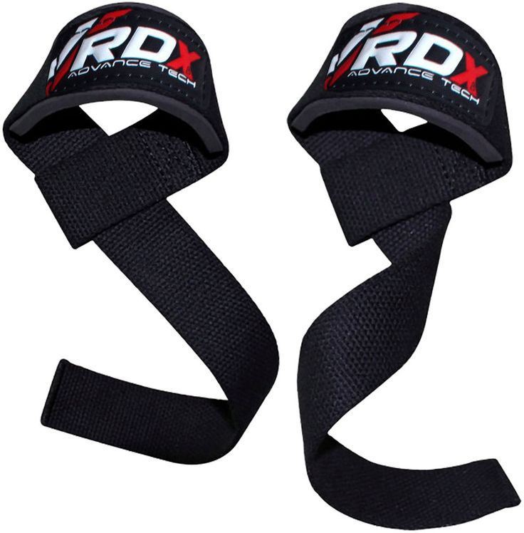 RDX Padded Weight Lifting Training Gym Straps Hand Bar Wrist Support Gloves US | eBay