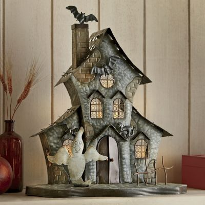 Haunted House Tealight Holder | .countrydoor.com & 48 best Spooktacular Decor by Country Door images on Pinterest ... Pezcame.Com