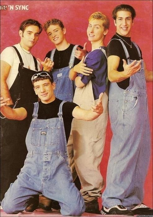 63 reasons boy bands were better in the 90s....overalls