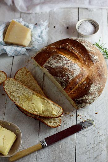 Potato, Pecorino & Rosemary bread #pain #bread